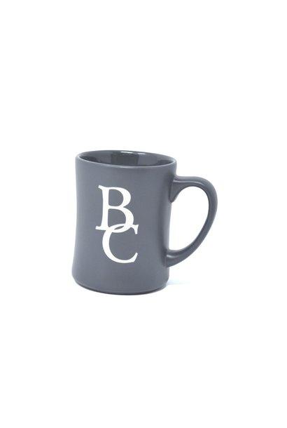 Gray Matte Etched BC Mug