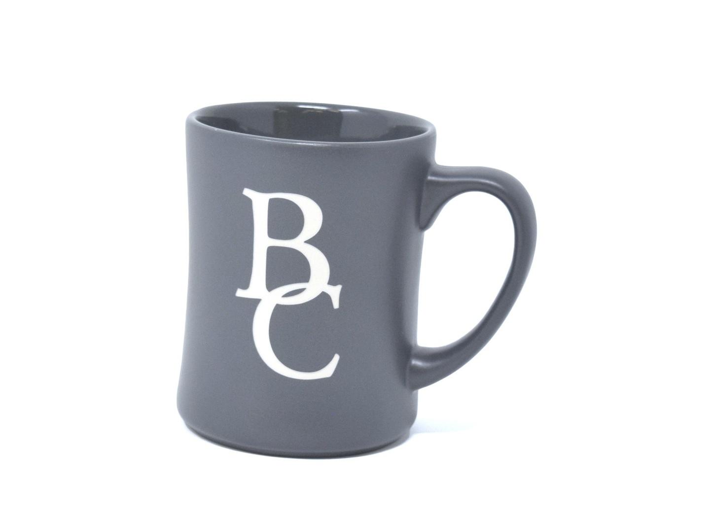 Gray Matte Etched BC Mug-1
