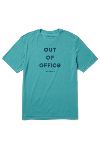 Out Of Office T-shirt  Life Is Good