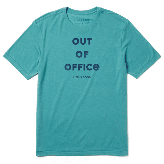 Out Of Office T-shirt Cool Life Is Good-1