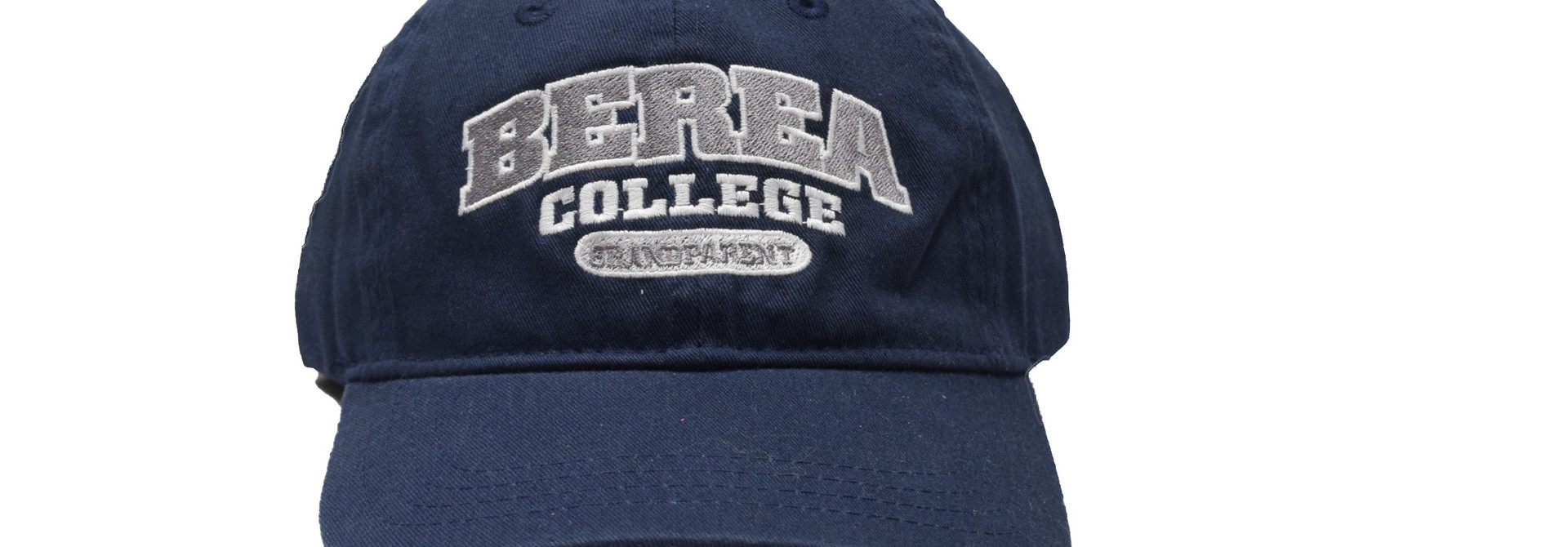 Navy Berea College Grandparent Ball Cap Strap