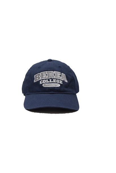 Navy Berea College Grandparent Ball Cap Strap