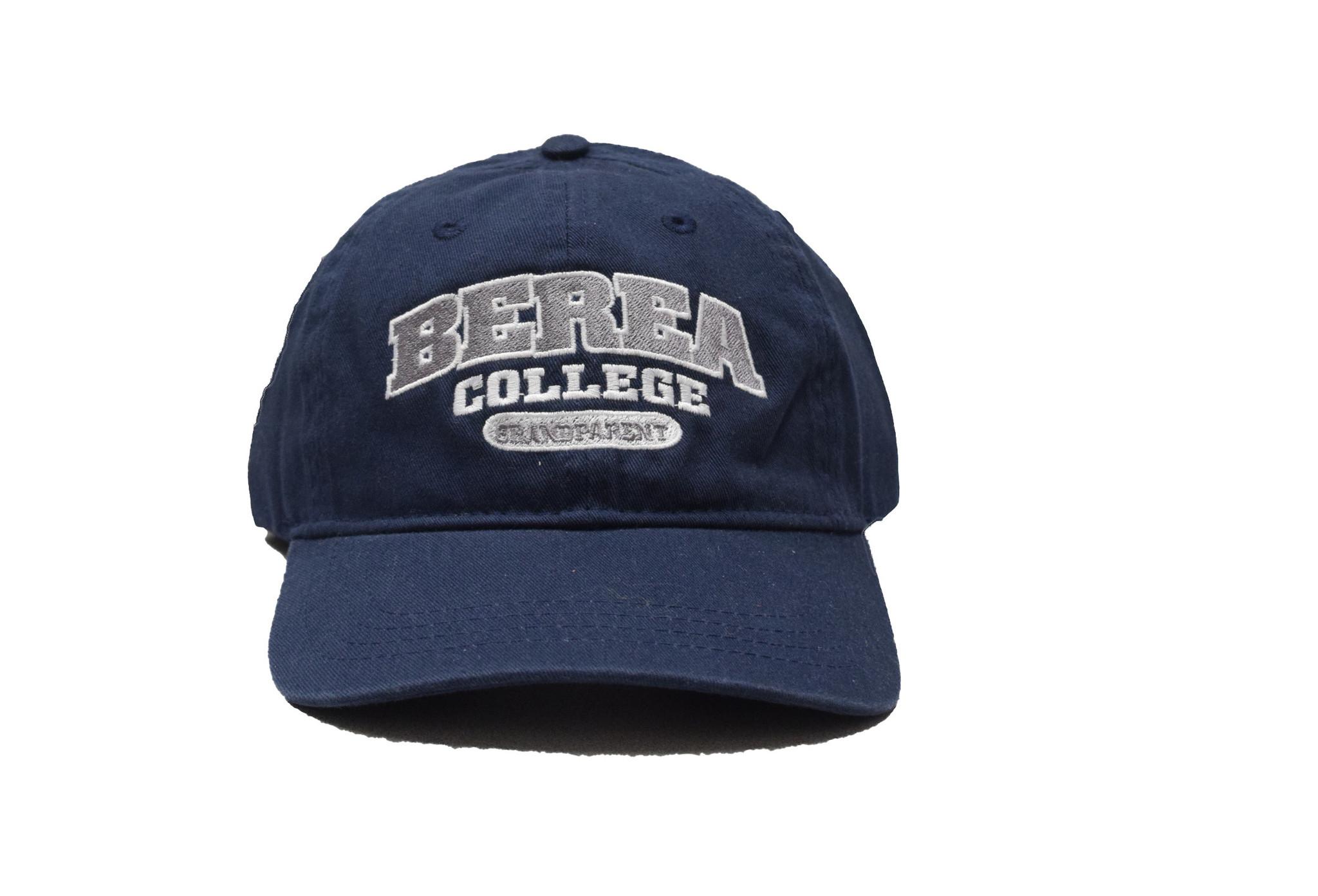 Navy Berea College Grandparent Ball Cap Strap-1