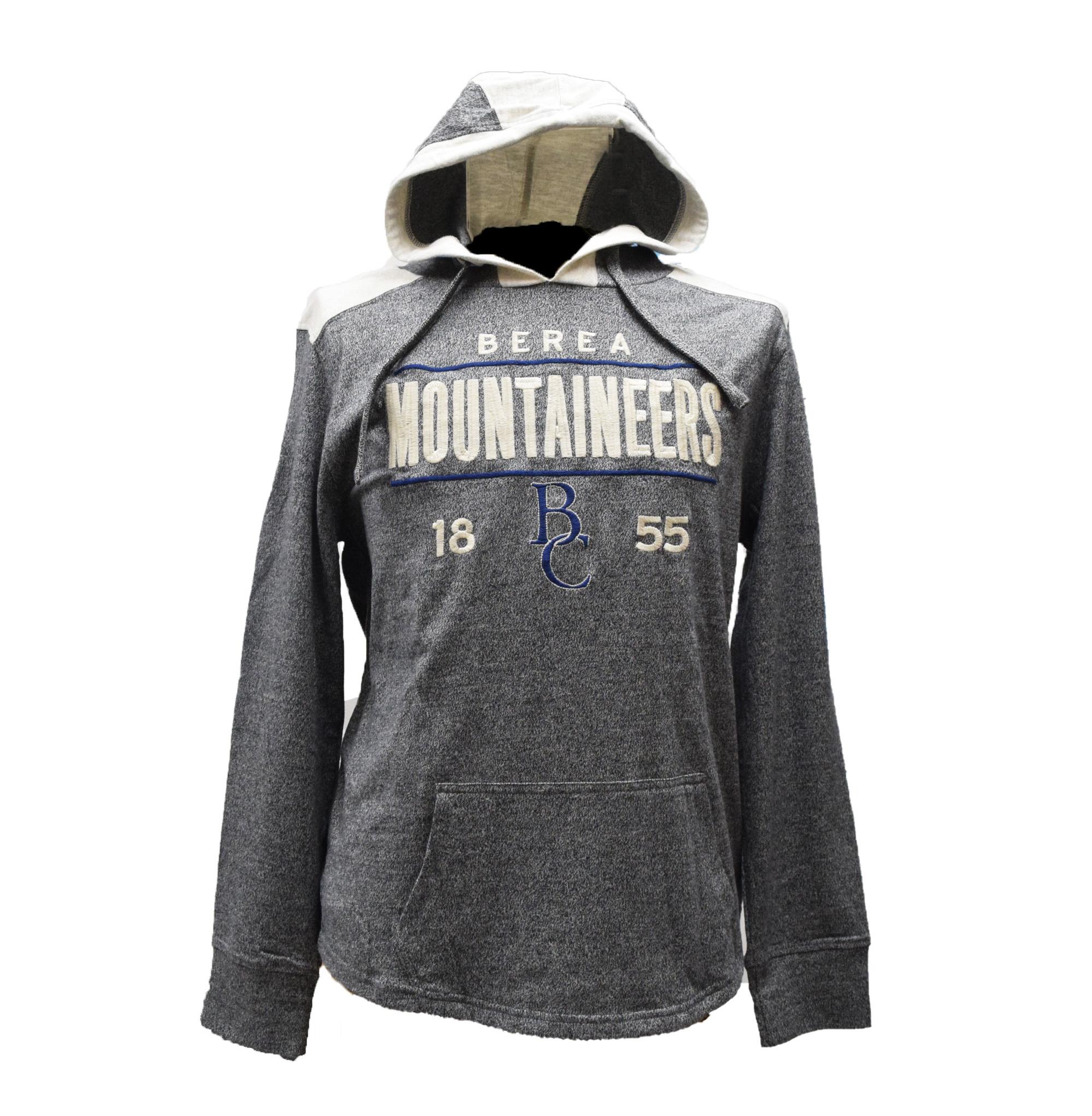 Gray Berea Mountaineers T-Shirt Hoodie-2
