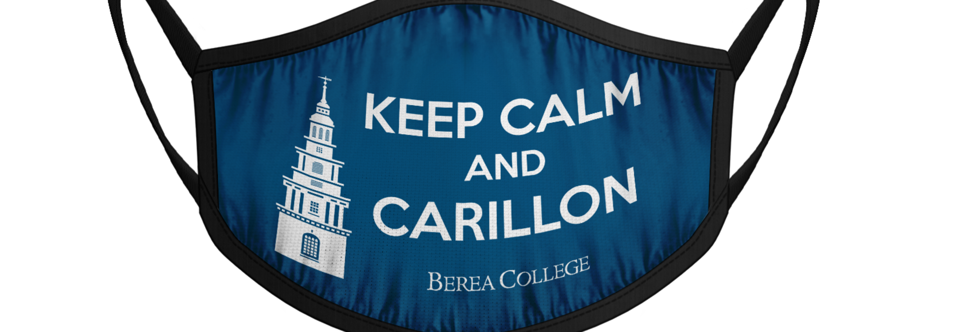 Keep Calm and Carillon Face Mask