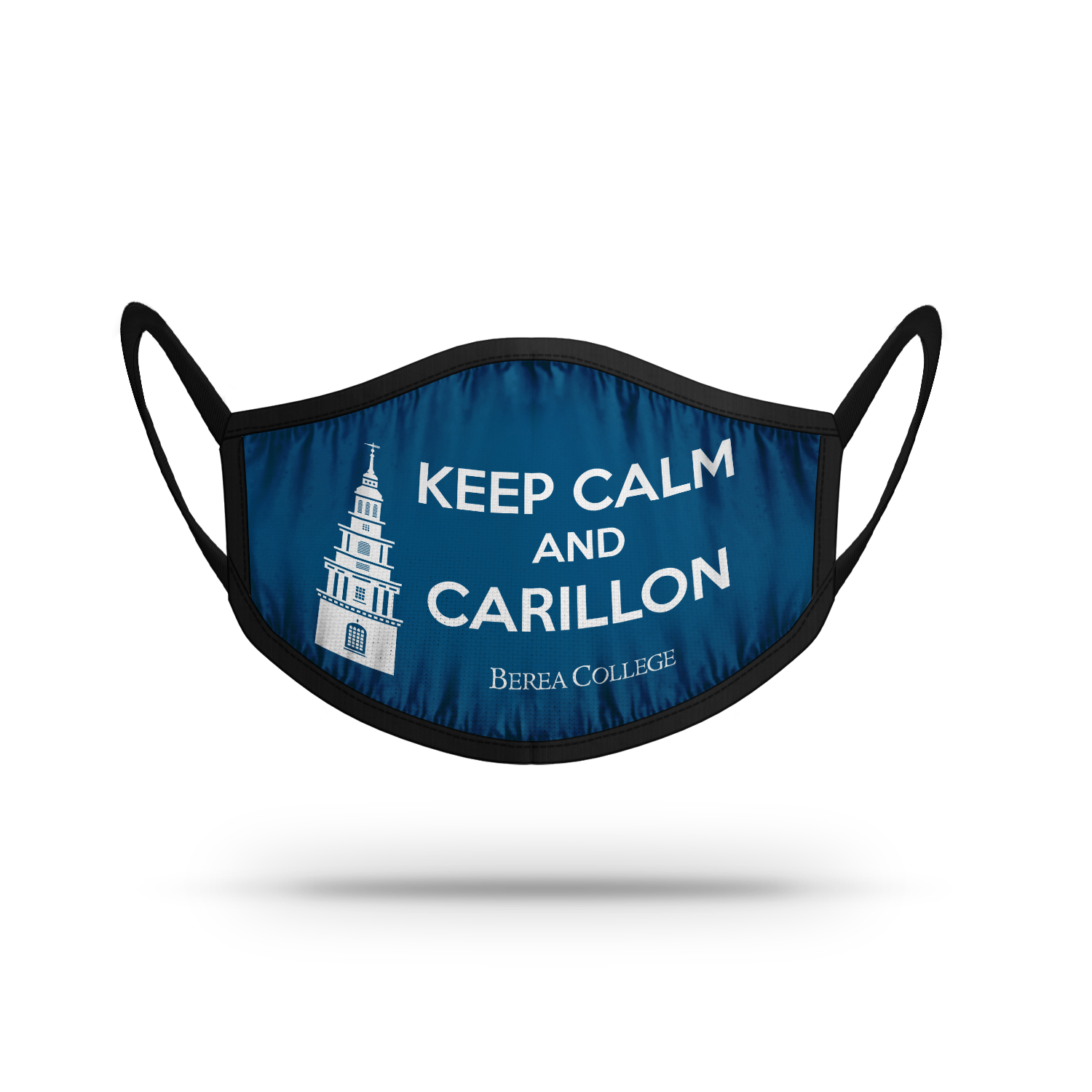 Keep Calm and Carillon Face Mask-1