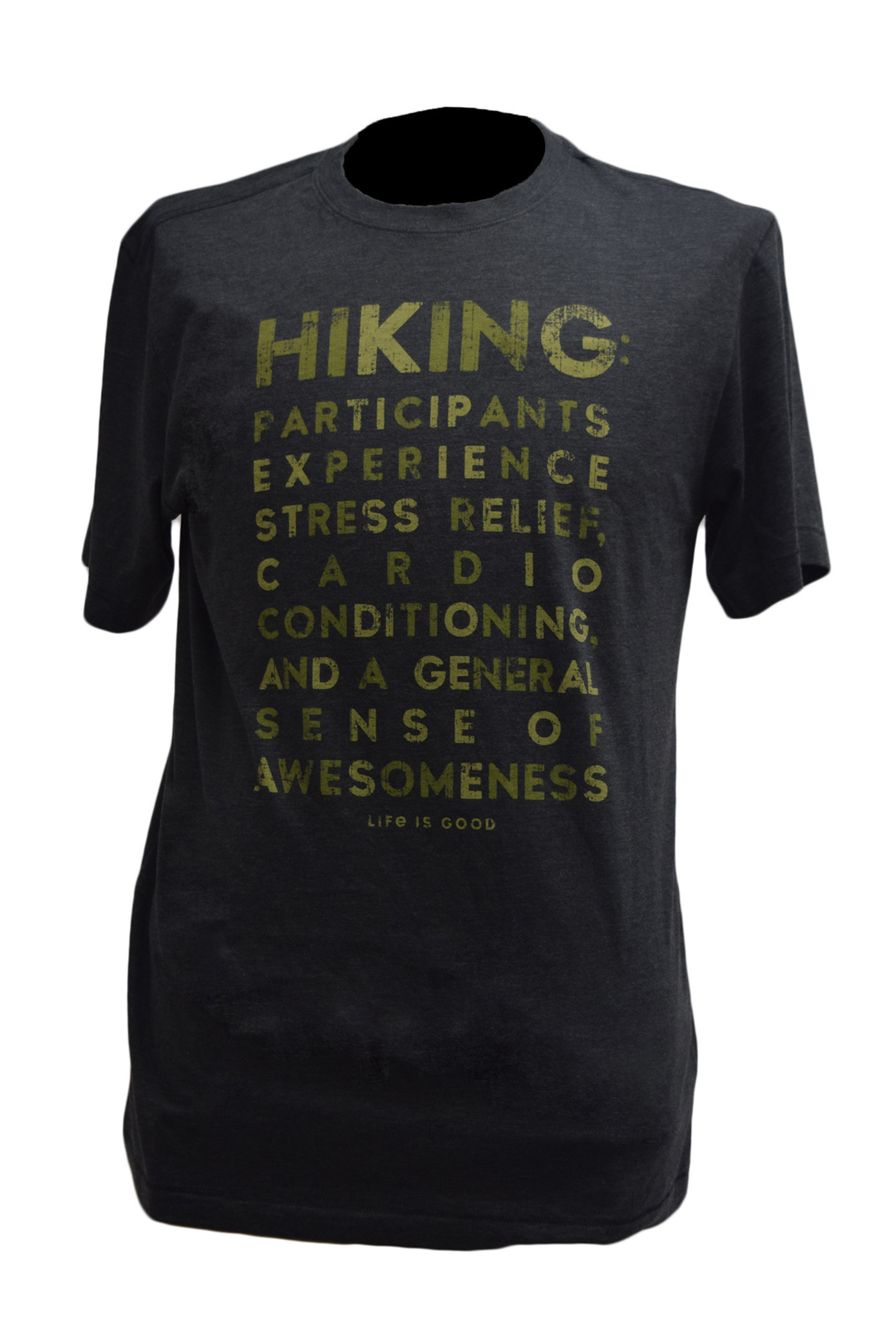 Hiking  T-shirt  Life Is Good-1