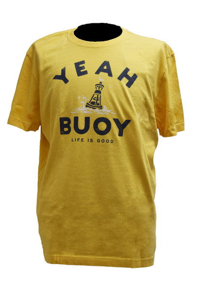 Yeah Buoy  Yellow T-Shirt