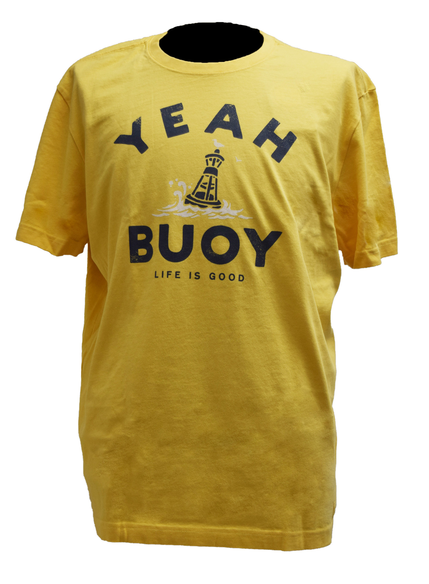 Yeah Buoy  Yellow T-Shirt-1