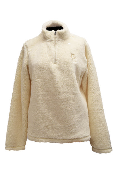 1/4 Zip Women's Fuzzy BC Pullover