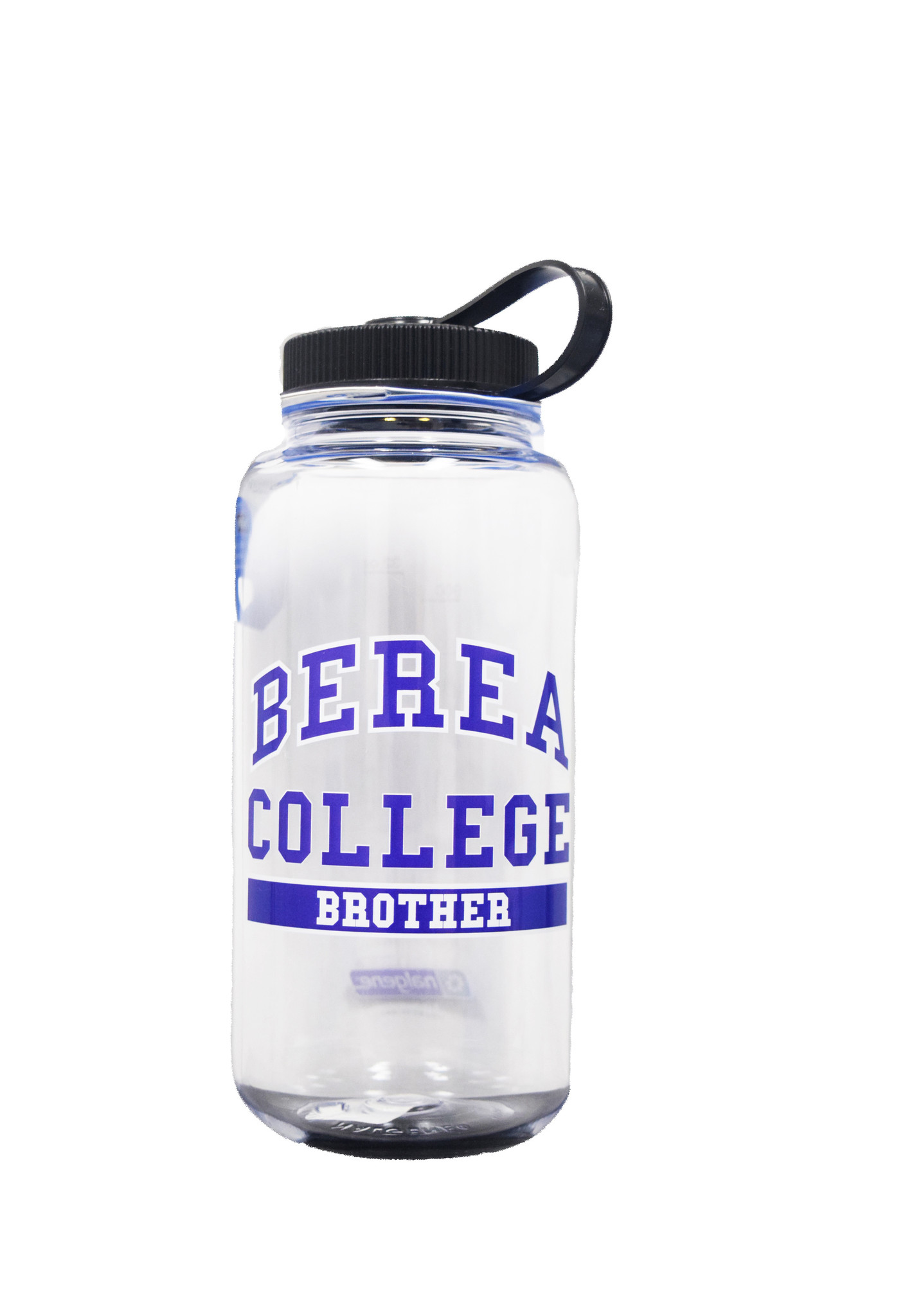 Clear Berea College Brother Water bottle-1