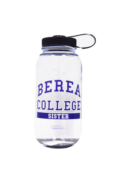 Clear Berea College Brother Water bottle