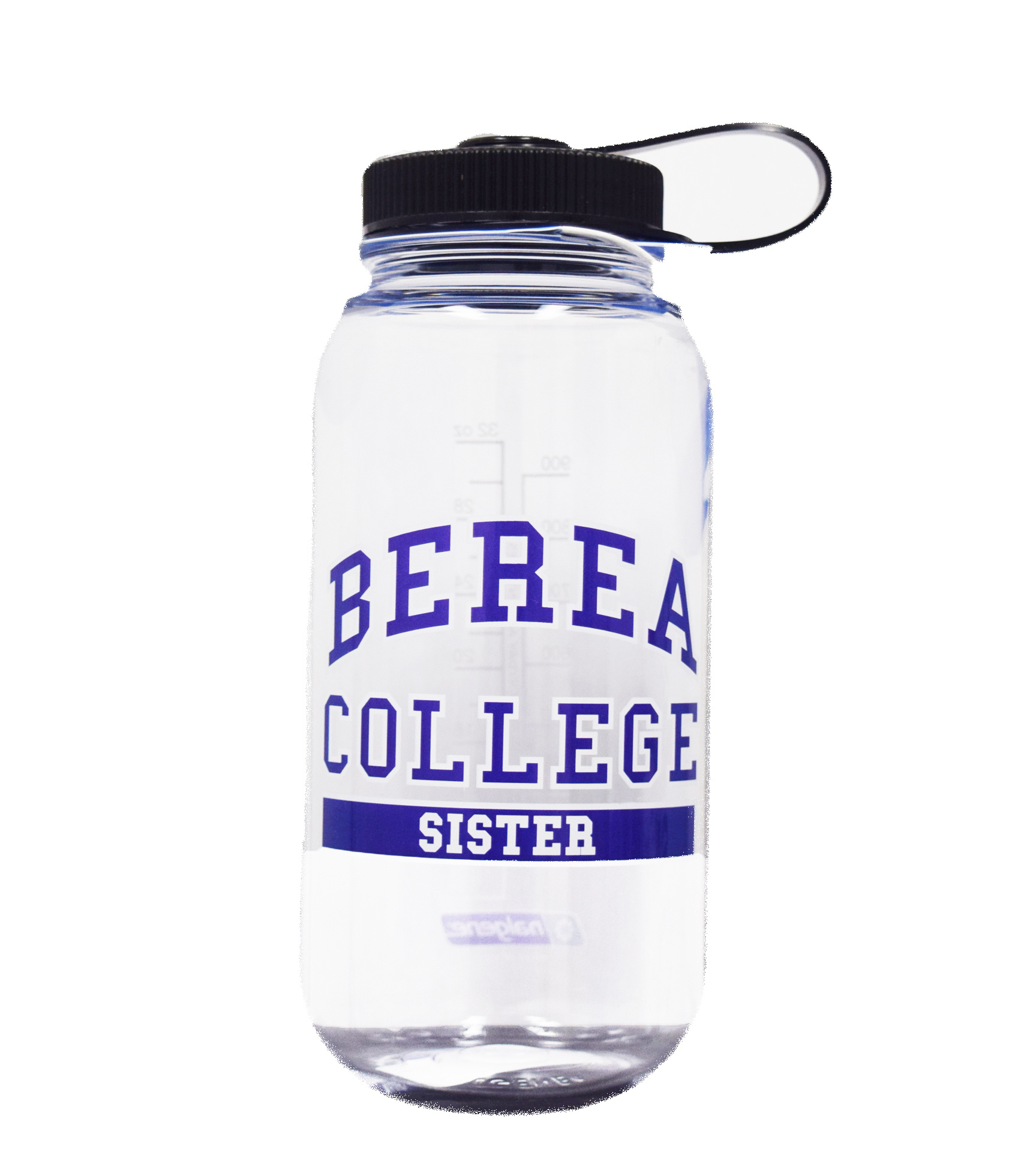 Clear Berea College Brother Water bottle-2