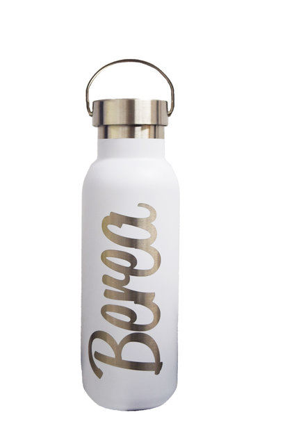 White Berea Water Bottle