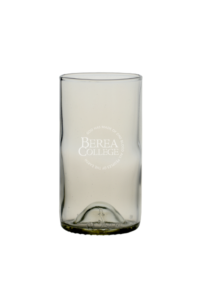 Clear Recycled Wine Bottle Glass