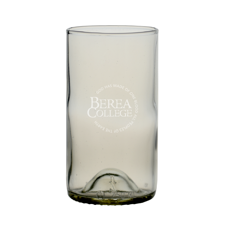 Clear Recycled Wine Bottle Glass-1