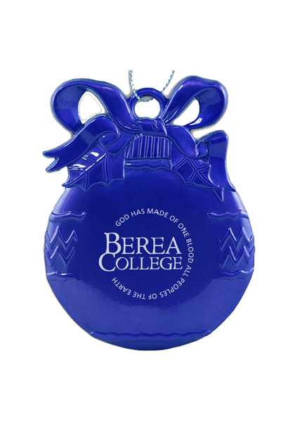 Blue Circle Logo Pewter bulb Ornament