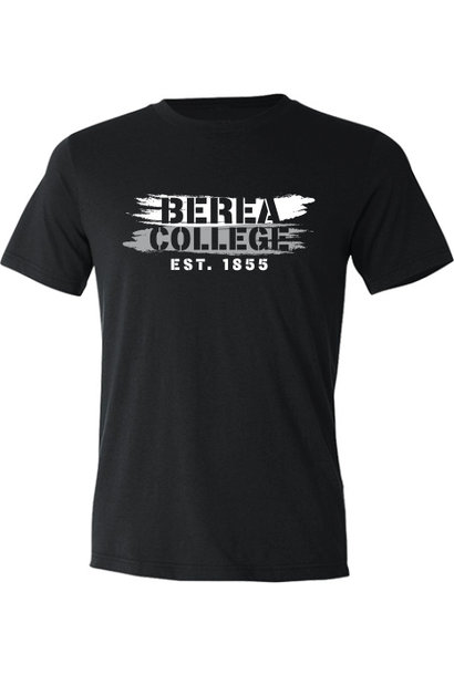 Marbled Black Berea College Est 1855 T-Shirt