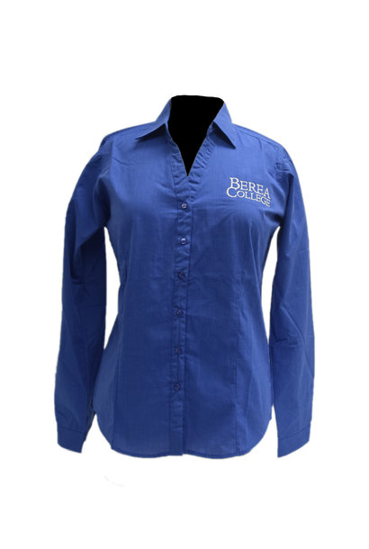 French Blue Berea College Dress Shirt