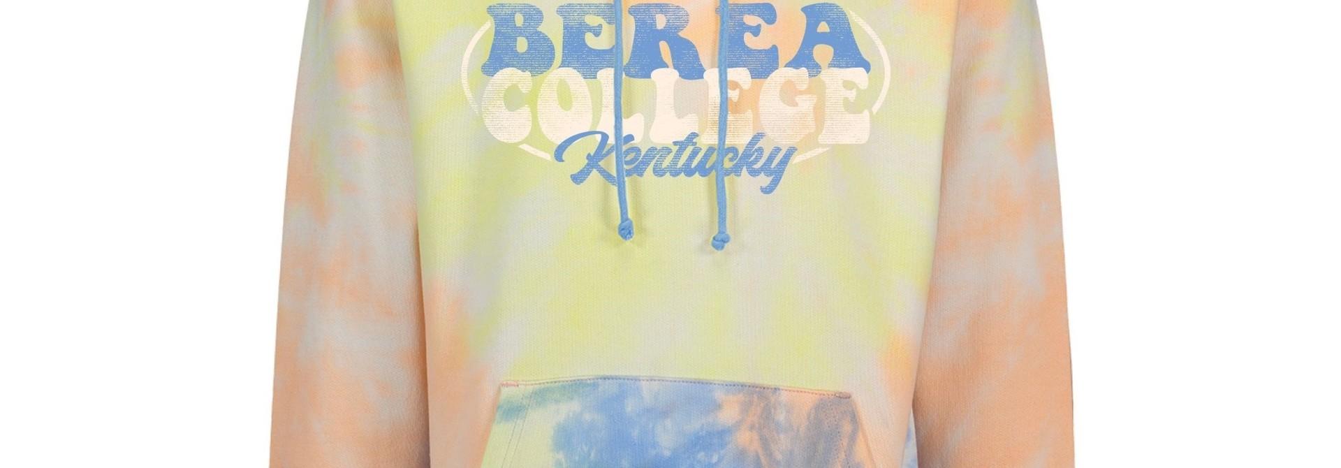 Berea College Est. 1855 Tie-Dye Sunrise Hoodie