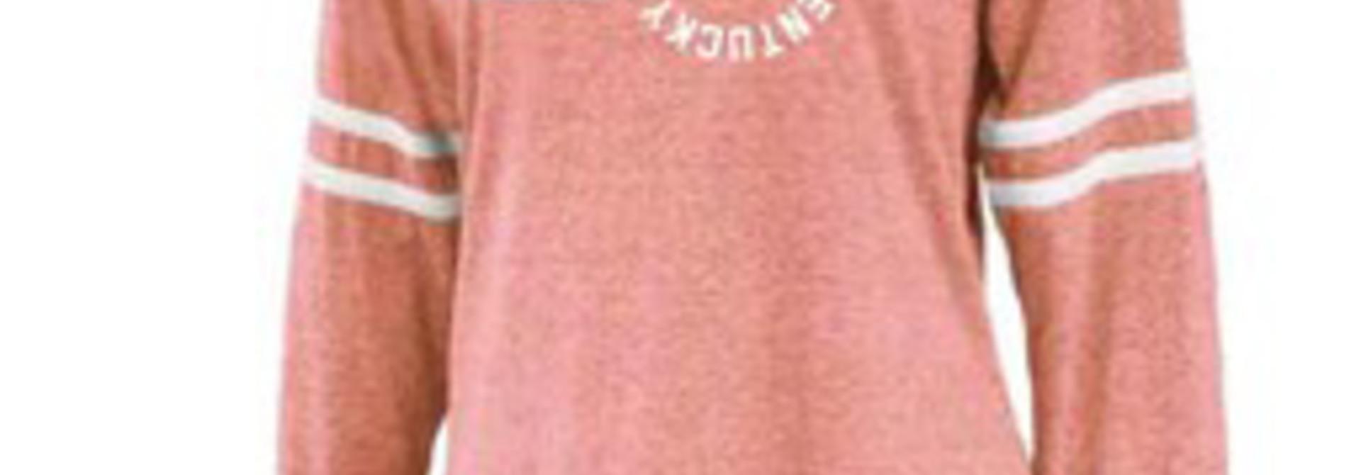 Orange Long Sleeve Berea College Kentucky  Pin Map T-shirt