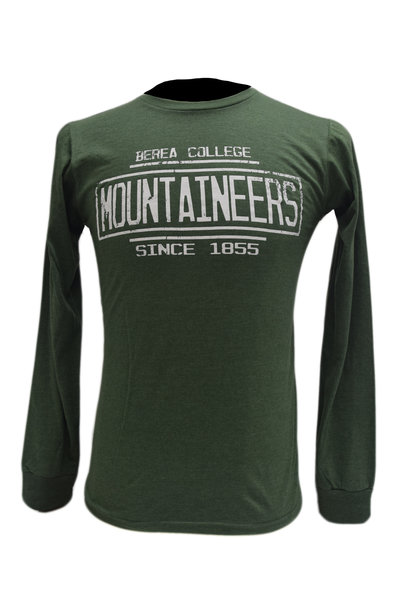 Berea College Mountaineers Since 1855 Long sleeve