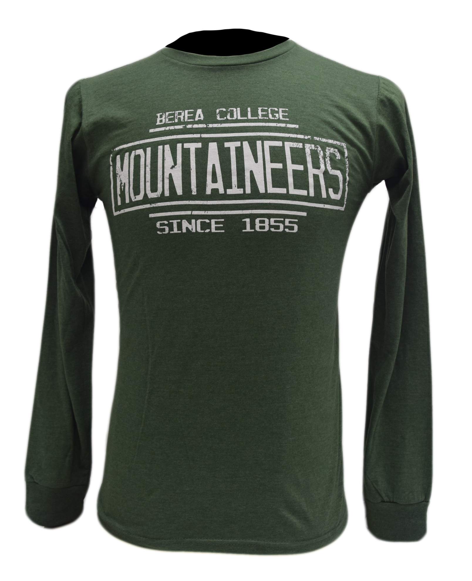 Berea College Mountaineers Since 1855 Long sleeve-2