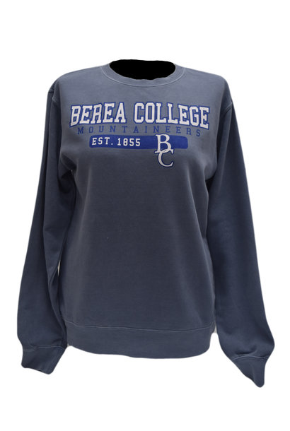 Crewneck Berea College Mountaineers