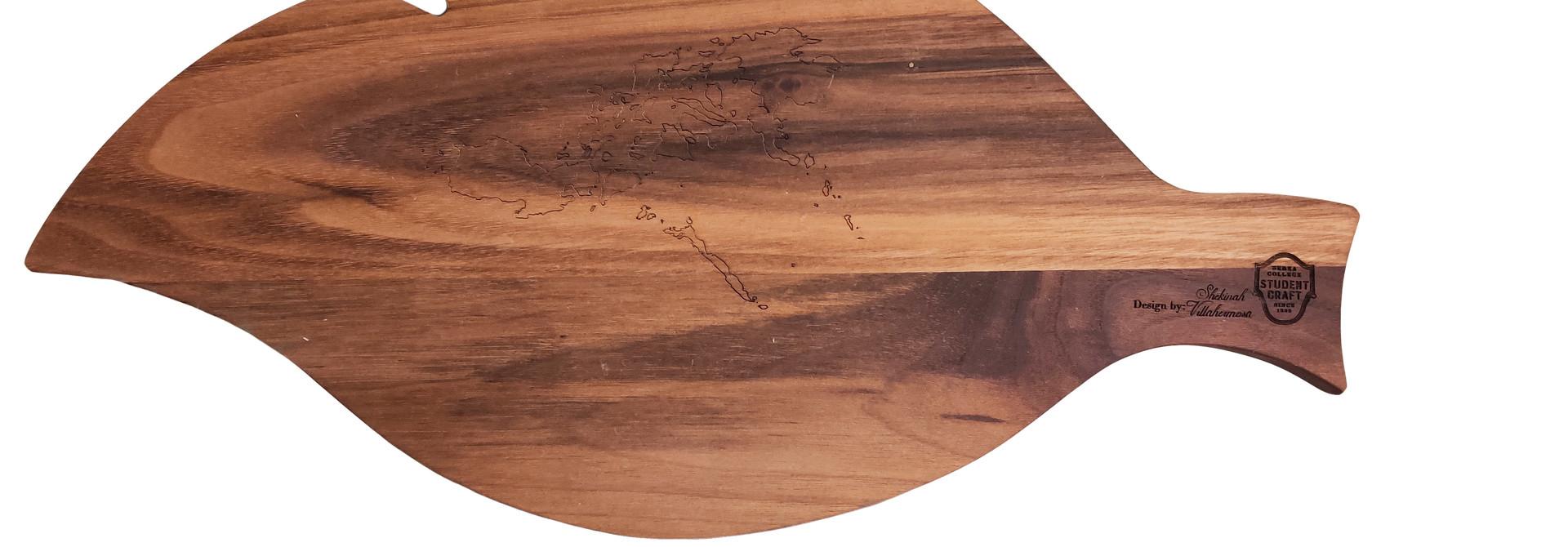 Leaf Cutting Board