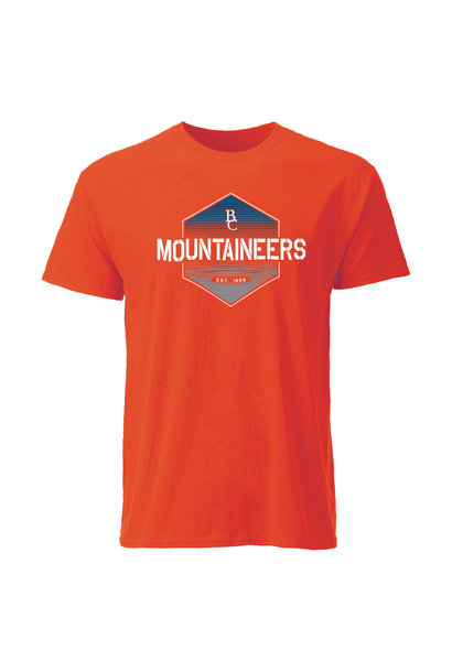 Hexagon BC Mountaineers Est. 1855 T-Shirt