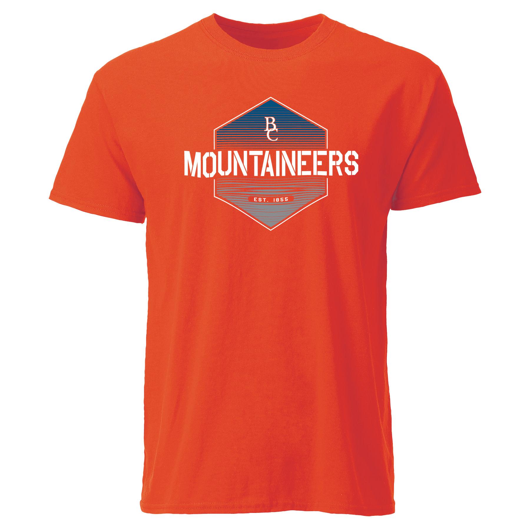 Hexagon BC Mountaineers Est. 1855 T-Shirt-2