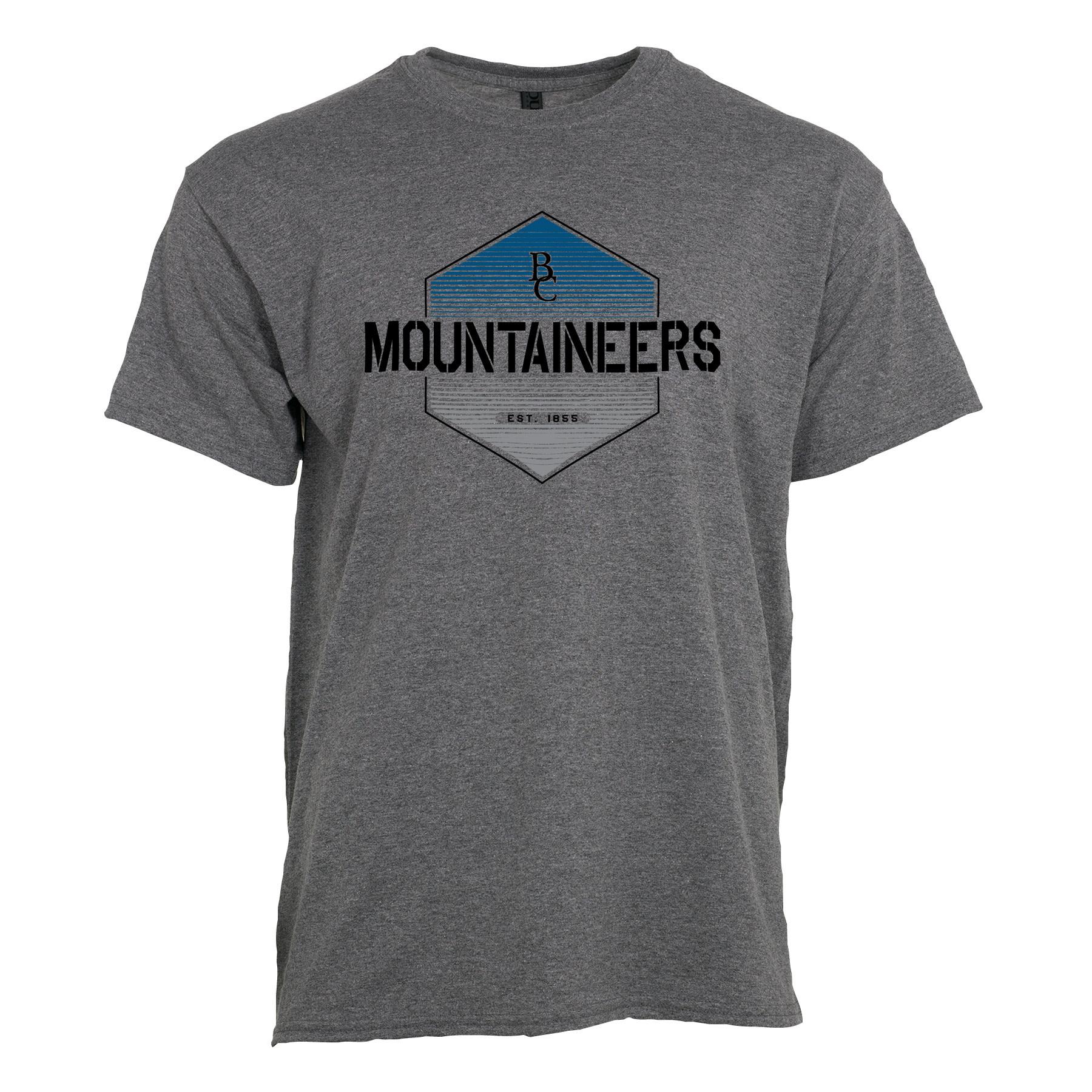 Hexagon BC Mountaineers Est. 1855 T-Shirt-1