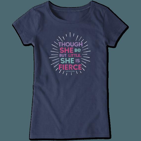 She is Fierce T-shirt-1