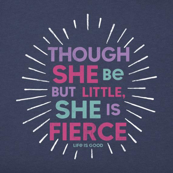 She is Fierce T-shirt-2