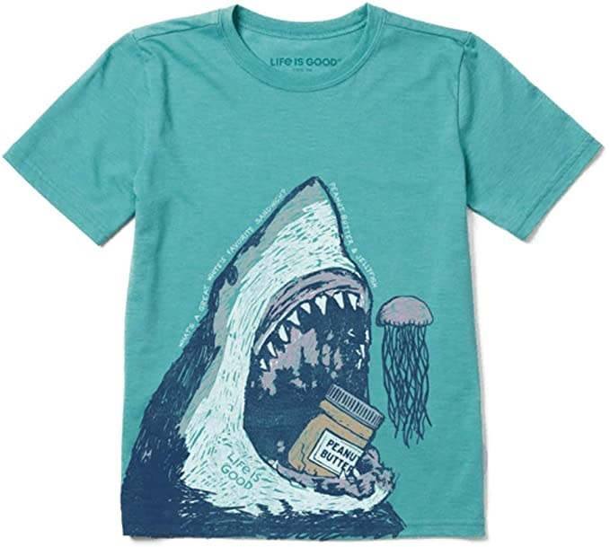 Great White Joke Youth T-Shirt-1