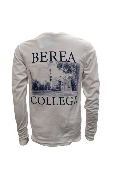 White Draper Hall Long Sleeved T-shirt