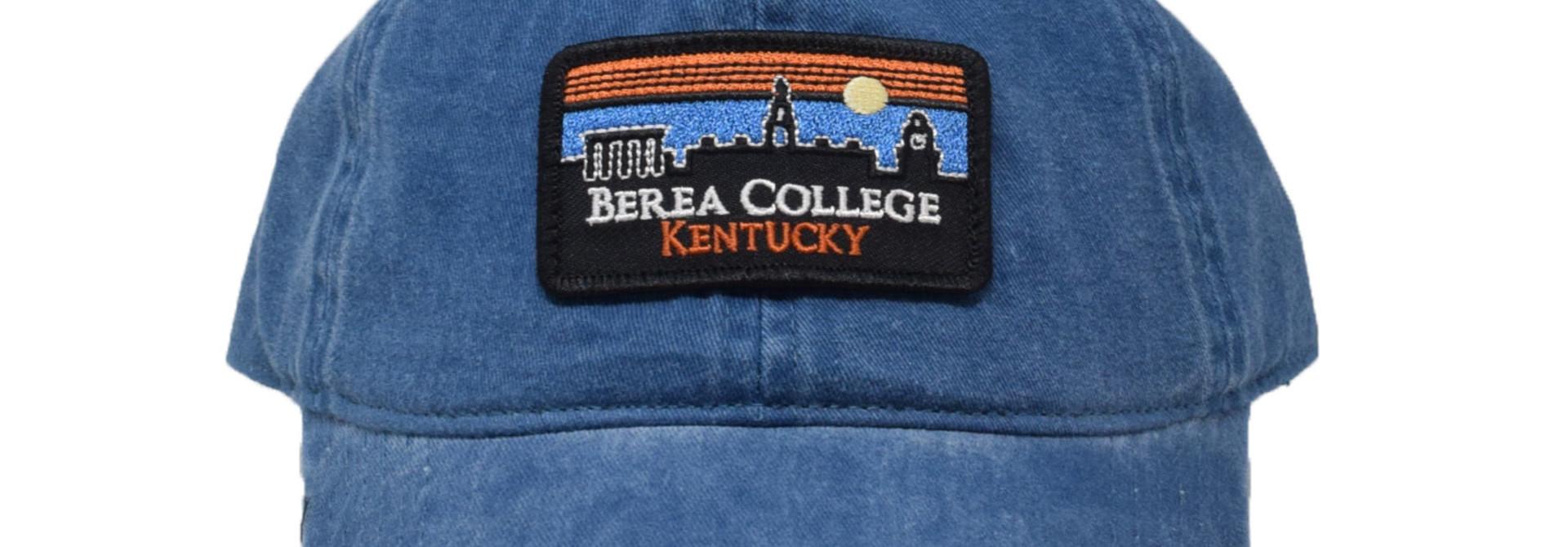 Berea College Retro Patch Vintage Ball Cap