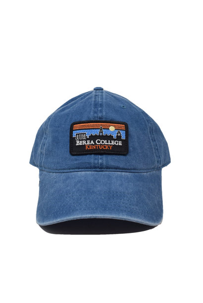 Berea College Retro Patch Vintage Ball Cap