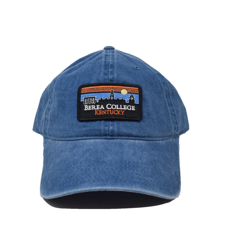 Berea College Retro Patch Vintage Ball Cap-1