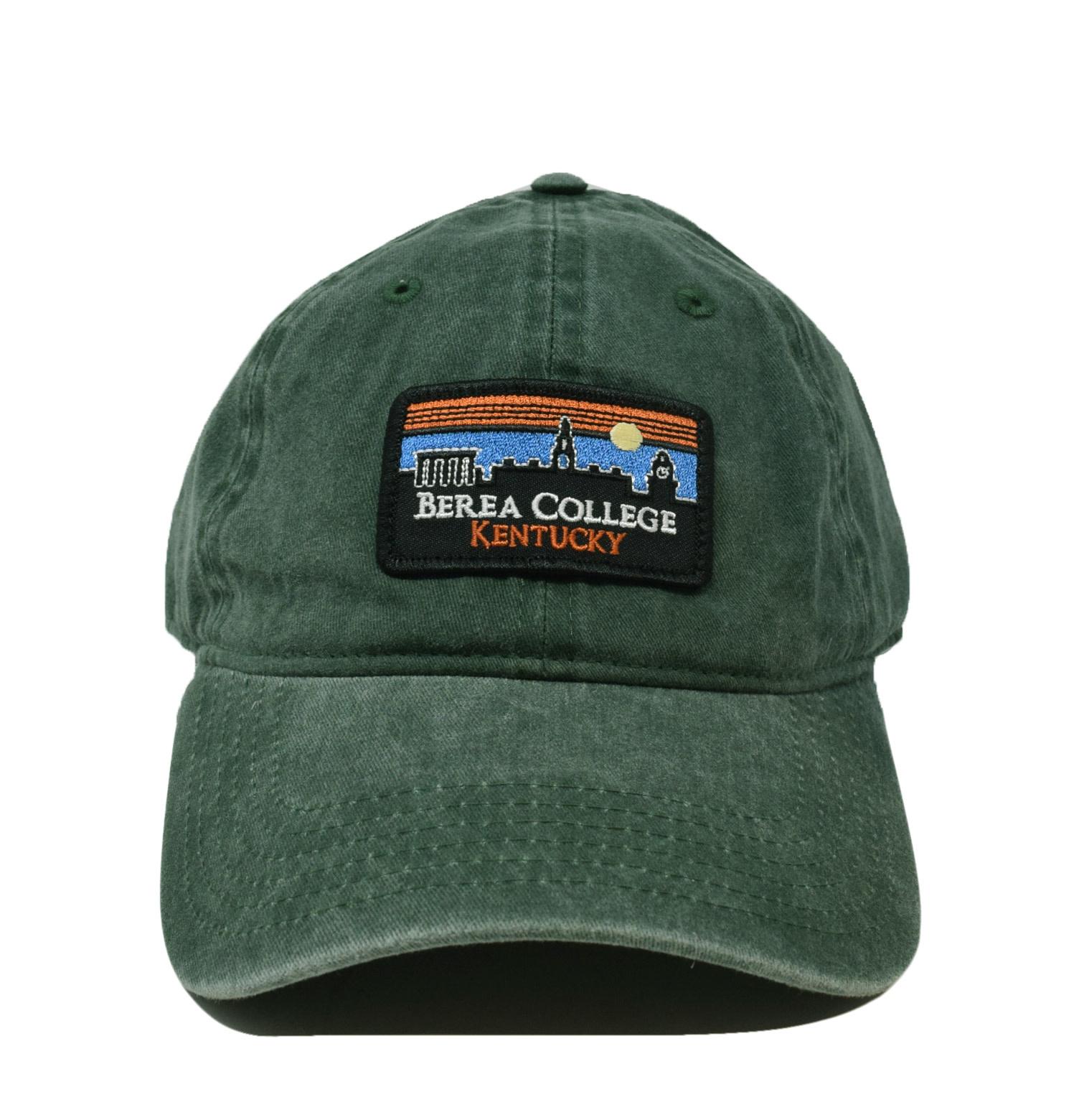 Berea College Retro Patch Vintage Ball Cap-2