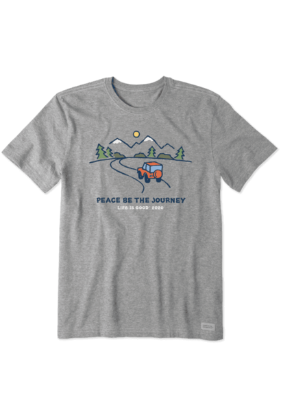 Peace Be The Journey Crusher T-Shirt