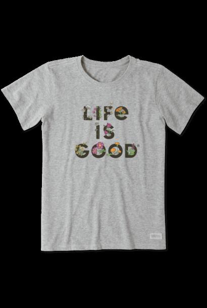 Life Is Gardening Crusher T-Shirt
