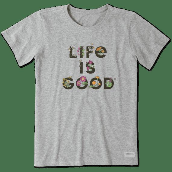 Life Is Gardening Crusher T-Shirt-1