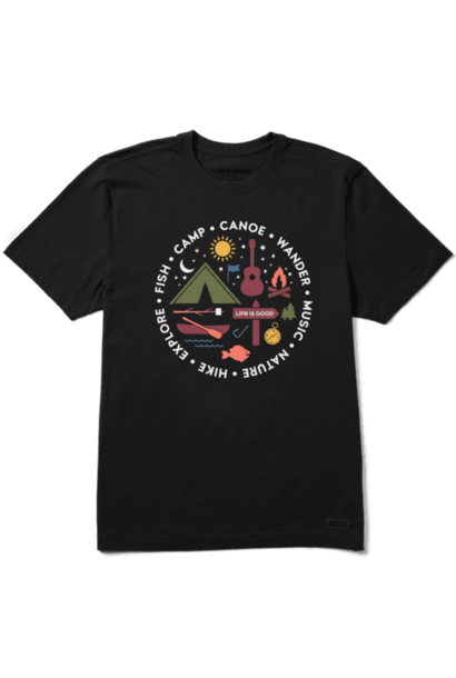 All About Camp Crusher T-Shirt