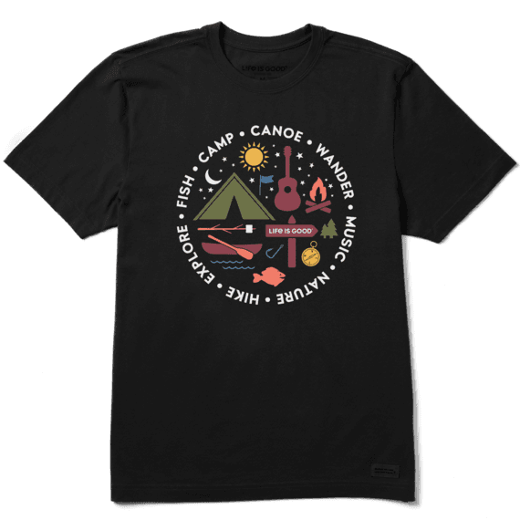 All About Camp Crusher T-Shirt-1