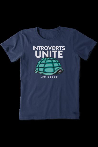 Introverts Unite Crusher T-Shirt