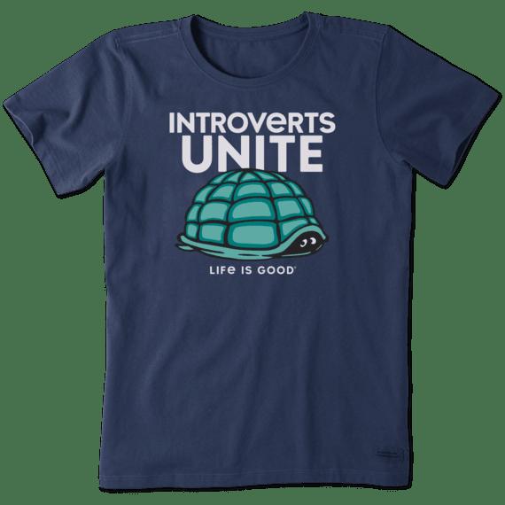 Introverts Unite Crusher T-Shirt-1