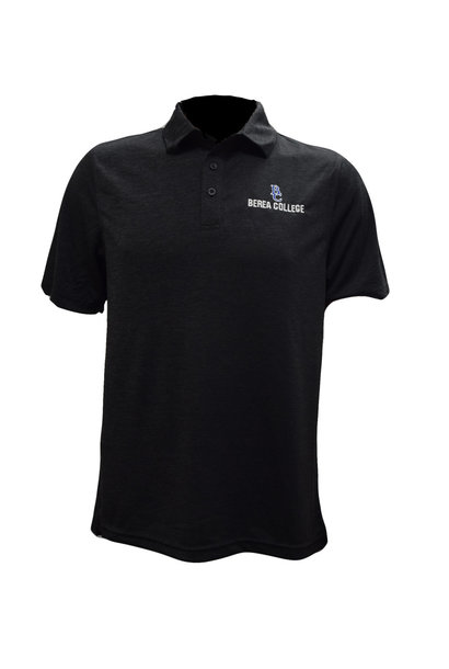BC Berea College Black Heather Polo