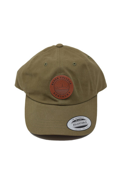 Loden ball cap with Starry Scape Patch