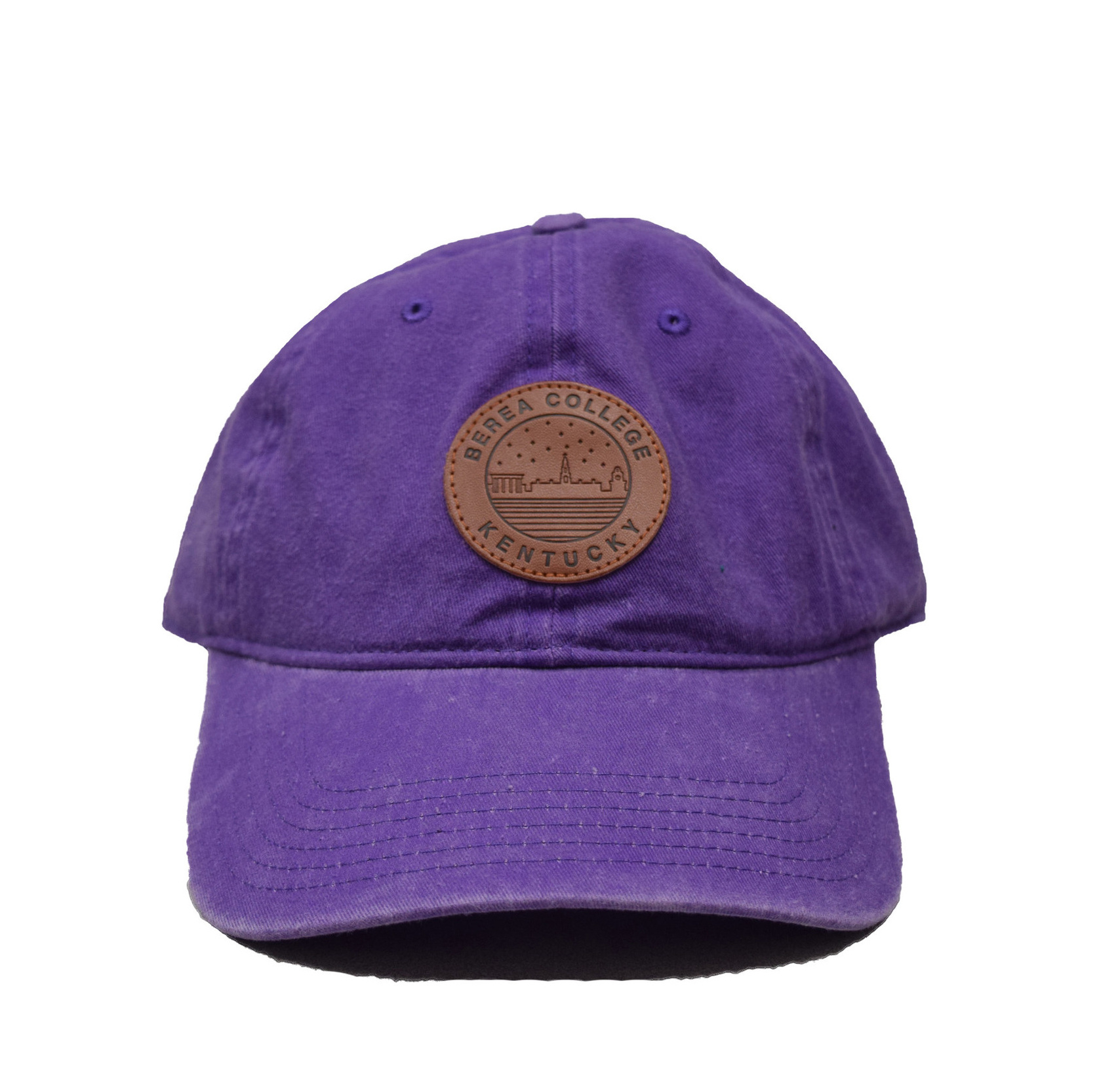 Ball Cap with Starry Scape Patch-1